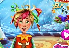 Игра Парикмахерская рождественского эльфа