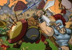 игры стратегии война замков