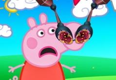 свинка пеппа игра уколы