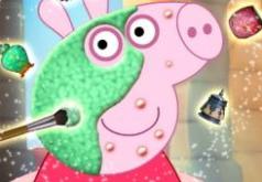 игры свинка пеппа одевалки и макияж