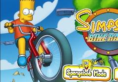 игры симпсоны карт гонка
