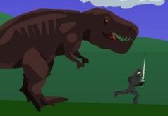 игры динозавр против ниндзя