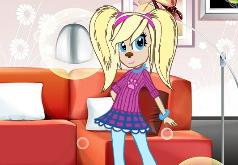 Игры Барбоскины: одевалка модницы Розы