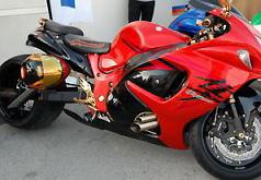 Игры Красный мотоцикл