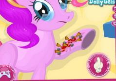 Игры Мой Маленький Пони Лечить Пинки Пай