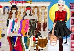 Игры Барби Зимняя модница
