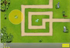 Игры Пони защищают замок
