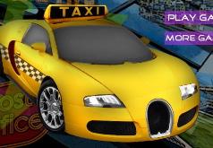игры такси по городу с рулем