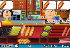 игра уличная еда
