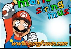 Игра Марио Струнная война