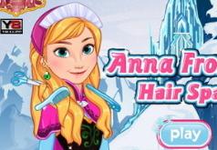 Игра Спа салон для волос Анны
