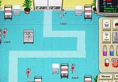 Игры Вирусы атака больницы