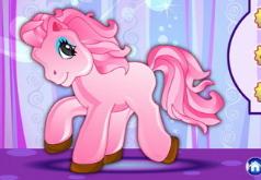 Игры Одевалка розовой пони
