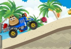 Игра Пляжная гонка Поу