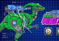 Игры роботы динозавры гадрозавр