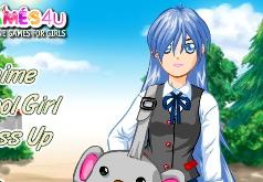 Игры аниме школа