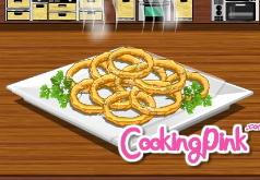 игры для девочек готовить чипсы