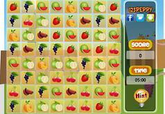 игры фруктовые ряды