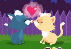 игры поцелуи кошки и кота