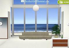 дом на пляже игра