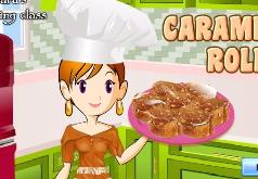 Игры для девочек готовка еды кухня сары