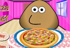 Игры Шакита готовит пиццу