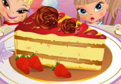 игры декор кусочка торта