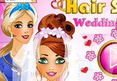игры для девочек парикмахерская для невесты