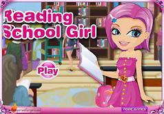 игры читающая школьница