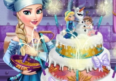 игры торт эльзы