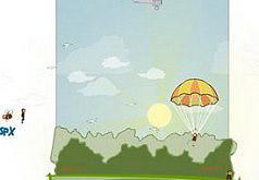 игры прыгать с парашютом с самолета