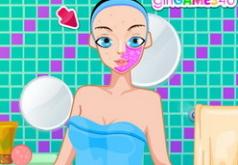 игры элегантный макияж невесты