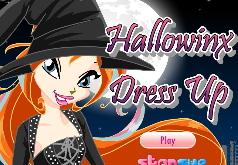 Игры винкс одевалки хэллоуин