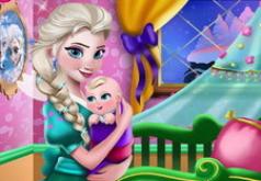 Игры Декор комнаты для малышки Эльзы