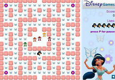 игры принцессы диснея жасмин