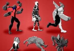 Игры бен 10 инопланетная сверхсила раскраски