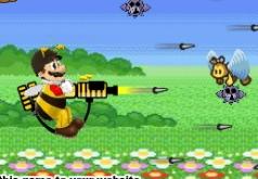 игры марио защищает от пчел