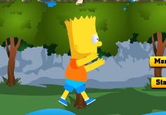 игры прыгающий барт симпсон