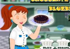 Игра Как приготовить шоколадно черничный пирог