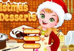 игры рождественские десерты