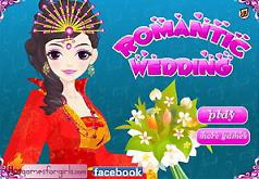 игры наряды для романтической свадьбы