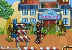 Игры рейнджеры роботы