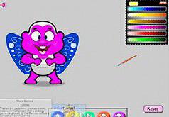 игры для девочек раскраски ангелы