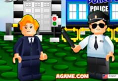 Игры лего полицейские