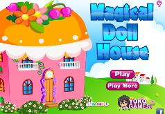 домик куклам строить игра