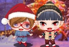 игры рождественские гномы