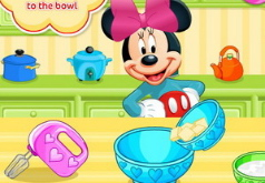 Игра Минни Маус готовит печенье