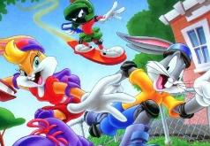 кролик луни тюнз игра