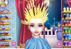 игры причёски золушки