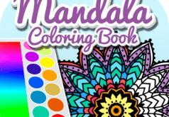 Игра Книжка Раскраска: Мандала